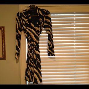 Landry wrap dress